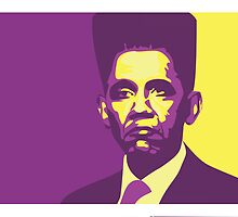 Obama's high top fade by BennyBen