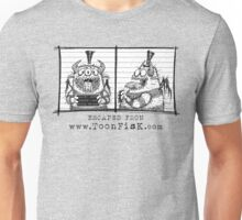 Monster Mug Shot Unisex T-Shirt