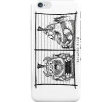 Monster Mug Shot iPhone Case/Skin