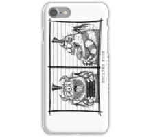 Monster Mug Shot iPhone Case/Skin