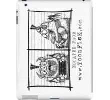 Monster Mug Shot iPad Case/Skin