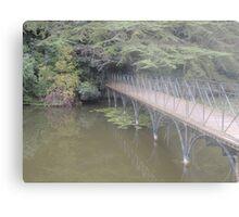 Peaceful Bridge (Blenheim Grounds) Metal Print