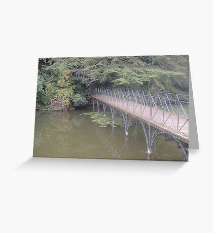Peaceful Bridge (Blenheim Grounds) Greeting Card