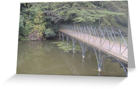 Peaceful Bridge (Blenheim Grounds) by CreativeEm