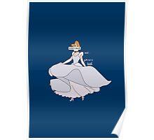 Keep Calm: Cinderella Twirl Poster