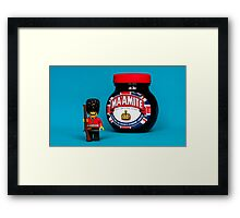 Quintessentially British Framed Print