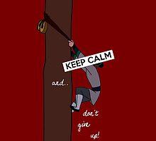 Keep Calm: Mulan's Determination by nomadicart