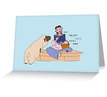 Keep Calm: Belle Greeting Card