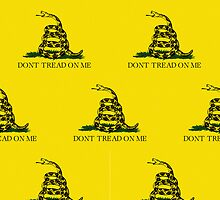 Iphone Case - Gadsden (Tea Party) Flag III by Mark Podger