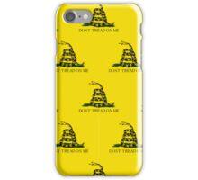 Smartphone Case - Gadsden (Tea Party) Flag III iPhone Case/Skin