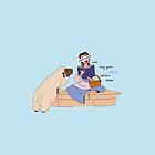 Keep Calm: Belle by nomadicart