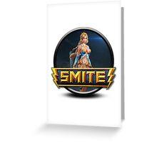 Smite Aphrodite Logo Greeting Card