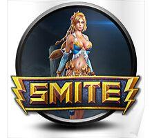 Smite Aphrodite Logo Poster