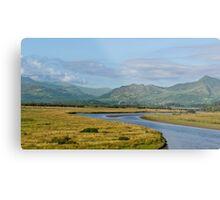 Gwynedd Estuary Metal Print