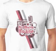 No Music No Life! Unisex T-Shirt