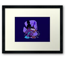 Keep Calm: Magic Carpet Framed Print