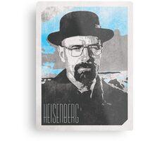 Heisenberg / Walter White Poster Metal Print