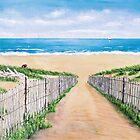 Durridge Bay, Northumberland by Woodie