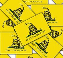 Smartphone Case - Gadsden (Tea Party) Flag VI by Mark Podger