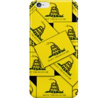Smartphone Case - Gadsden (Tea Party) Flag VIII iPhone Case/Skin