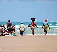 WHEN THE DAYS CATCH ARRIVES - MOZAMBIQUE by Magriet Meintjes