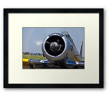 North American AT-6 Harvard — 7072 Framed Print