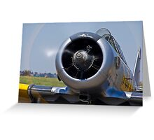 North American AT-6 Harvard — 7072 Greeting Card