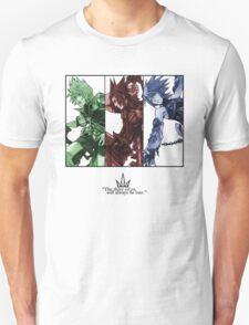 Kingdom Hearts Birth by Sleep Main Characters Unisex T-Shirt