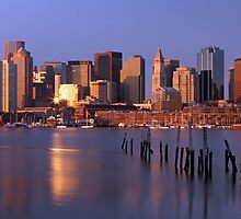 Boston Landmarks and Skylines by juergenroth