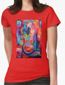 Rise of the Divine Feminine Womens Fitted T-Shirt
