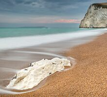 Bat's Head at Durdle Door by Chris Frost Photography
