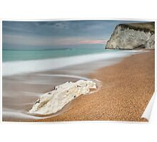 Bat's Head at Durdle Door Poster