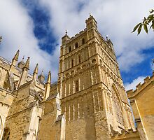 Exeter Cathedral by Beverley Goodwin
