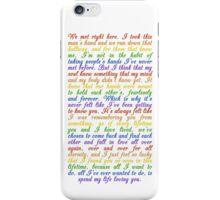 The Speech (iPhone 5/s) iPhone Case/Skin