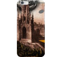 Digging Under the Cathedral iPhone Case/Skin