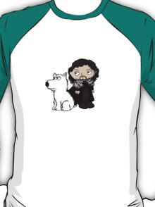 Stewie Griffin is Jon Snow game of thrones T-Shirt