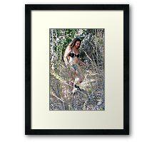 Sneak Peak Framed Print