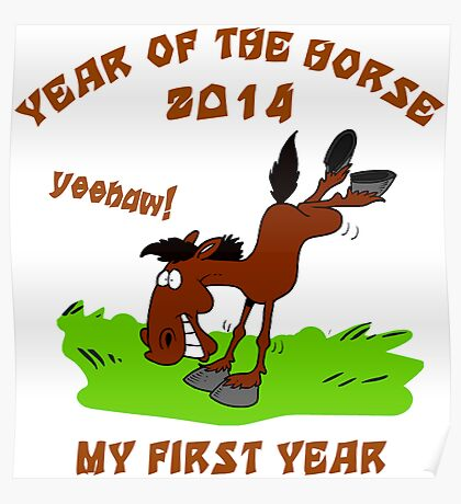 Born Year of The Horse Baby 2014 Poster