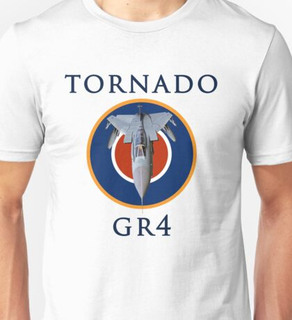 Tornado GR4 illustrated with text Unisex T-Shirt