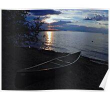 Sundown Slave Lake  Poster