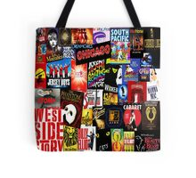 Broadway Collage Tote Bag
