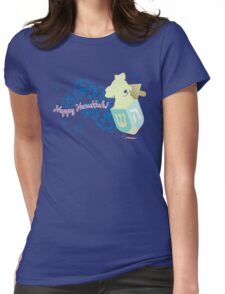 Happy Hanukkah! Womens Fitted T-Shirt