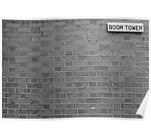 Boom Tower Poster