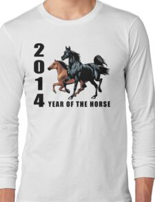 2014 Year of The Horse T-Shirts Gifts Prints Long Sleeve T-Shirt