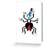 Party Guy Spider Greeting Card