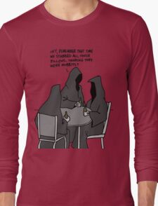 Nazgul Having a Beer Long Sleeve T-Shirt
