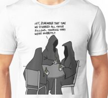 Nazgul Having a Beer Unisex T-Shirt