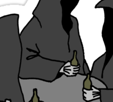 Nazgul Having a Beer Sticker