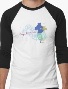 Happy Hanukkah! 2 Men's Baseball ¾ T-Shirt