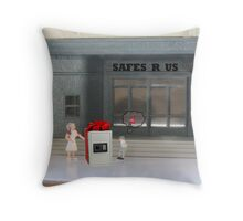 I know you wanted a board game for your birthday but you know what they say….better safe than sorry! Throw Pillow